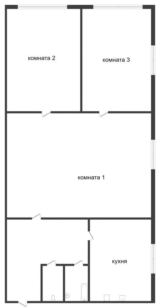 Продажа 3-комнатной квартиры, Златоуст, Строителей,  8