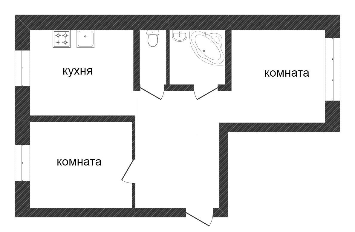 Продажа 2-комнатной квартиры, Златоуст, Просвещения,  8