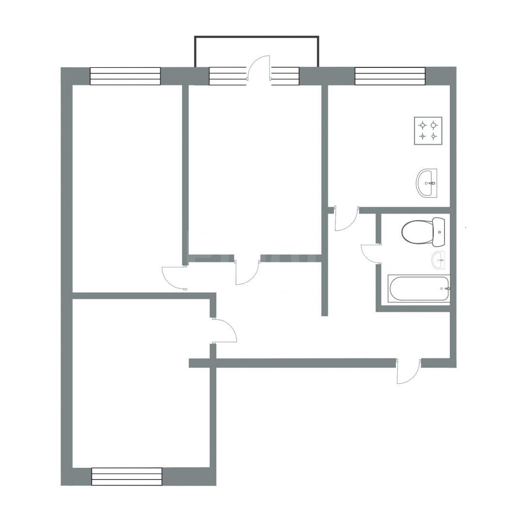 Продажа 3-комнатной квартиры, Златоуст, Риты Сергеевой,  19