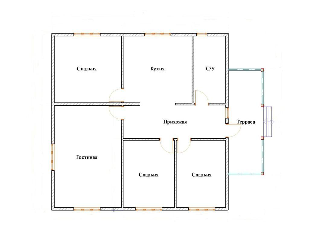 девочки проекты одноэтажных домов 9 11 смазочка самотыке Большие
