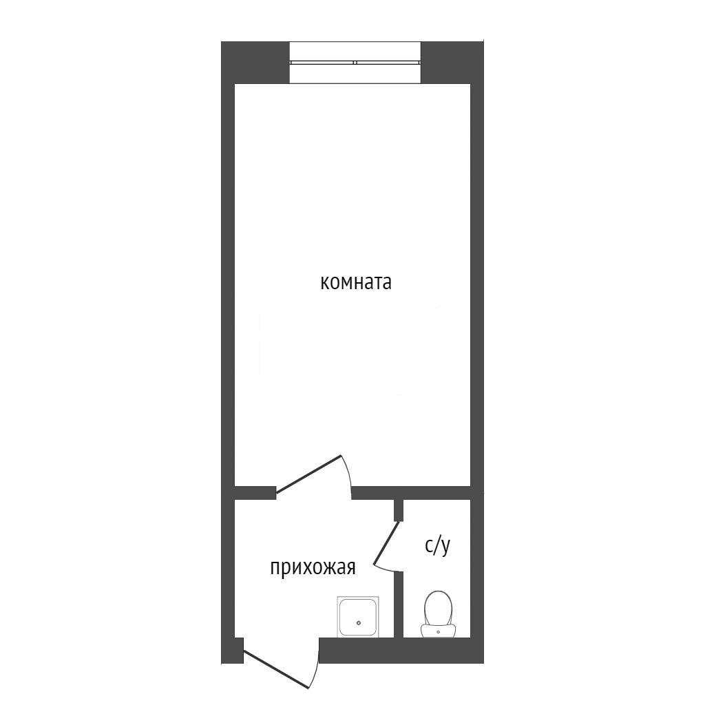 Продажа 1-комнатной квартиры, Красноярск, Крупской,  26
