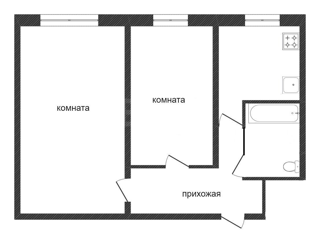 Продажа 2-комнатной квартиры, Златоуст, 3-я Тесьминская,  129