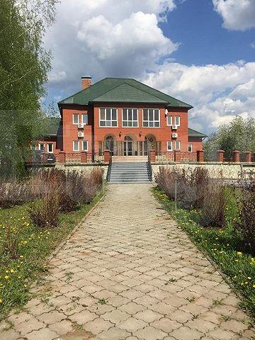продается усадьба в 40 км от города перми на участке площадью 1 га.двухэтажный кирп ...