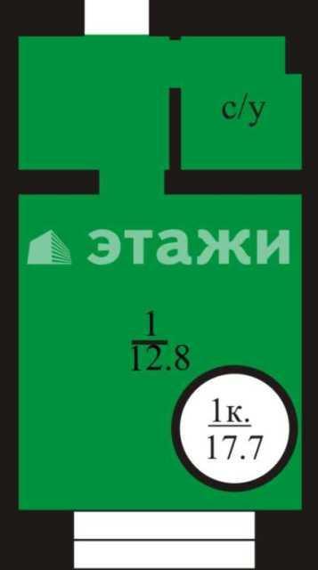 Объявление. г. Тюмень, Комната 17кв.м, Республики, 246. Фото 1
