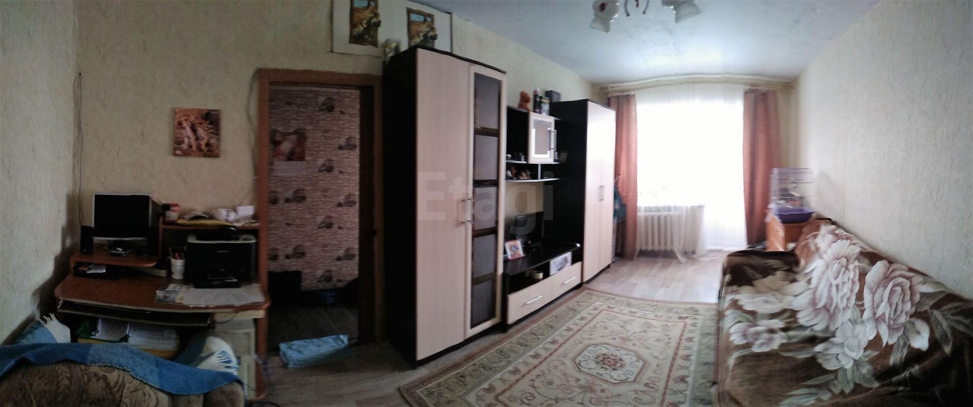 Продается двухкомнатная квартира за 1 747 000 рублей. Приокский, ул. Космонавтов, д. 4.