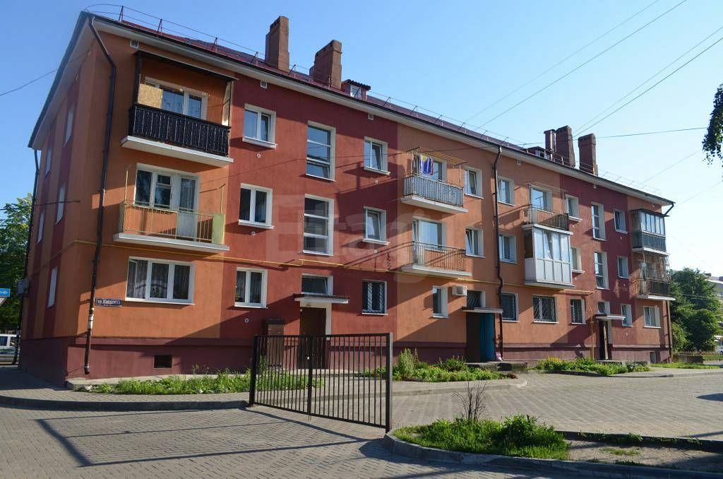 1-а комнатная квартира по адресу калининград, киевская ул, -.