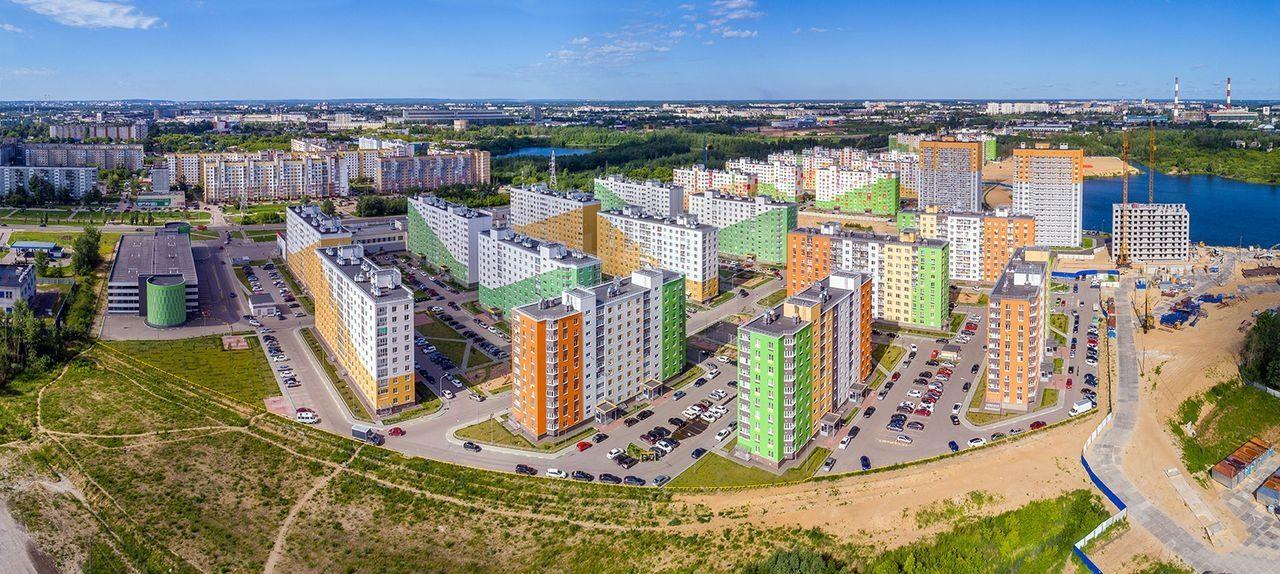Продается однокомнатная квартира за 3 210 000 рублей. Московский, ул. Бурнаковская, д. 79 (9.4 км до центра).