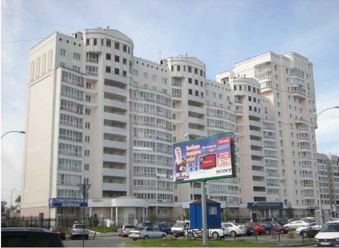 Продается двухкомнатная квартира за 5 600 000 рублей. Автовокзал, ул. Фурманова, д. 123 (2.9 км до центра).