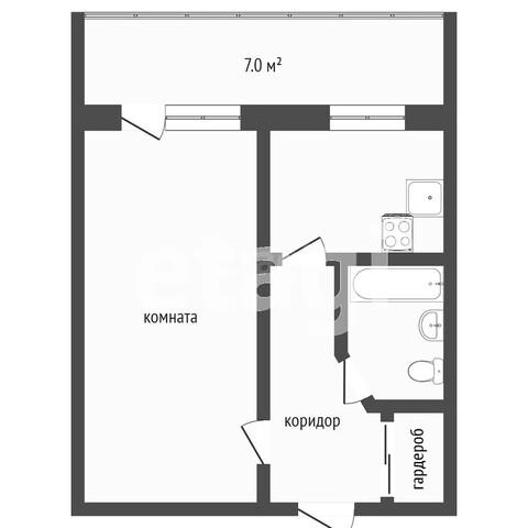 Продажа 1-комнатной квартиры, Комсомольск-на-Амуре, Магистральное шоссе,  19